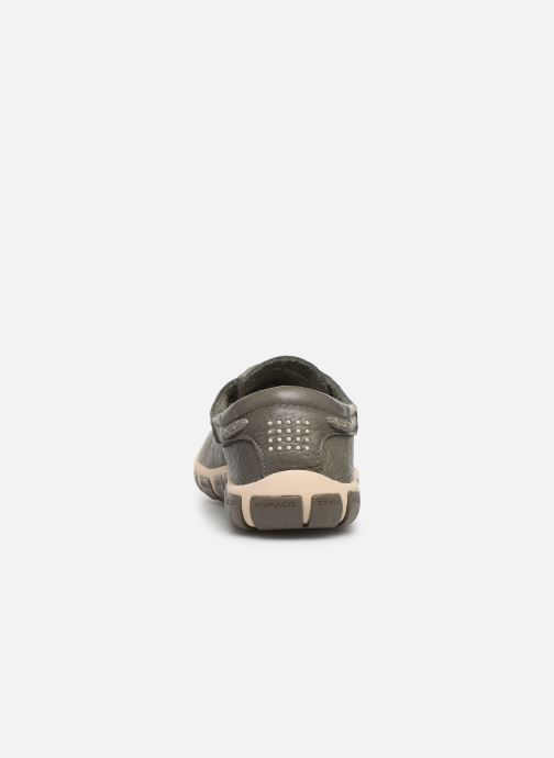 Lace-up shoes TBS Jazaru Grey view from the right