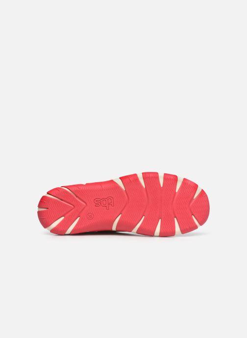 Zapatos con cordones TBS Jazaru Blanco vista de arriba