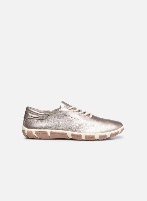 Zapatos con cordones TBS Jazaru Oro y bronce vistra trasera