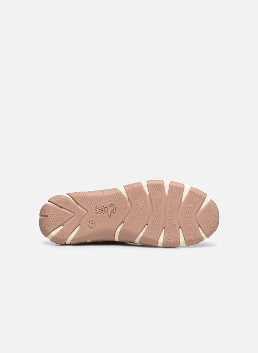 Chaussures à lacets TBS Jazaru Or et bronze vue haut