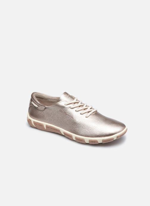 Chaussures à lacets TBS Jazaru Or et bronze vue détail/paire