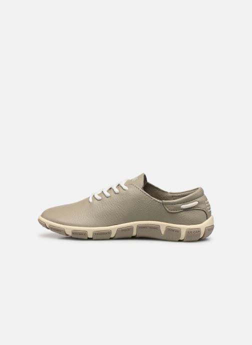 Chaussures à lacets TBS Jazaru Beige vue face