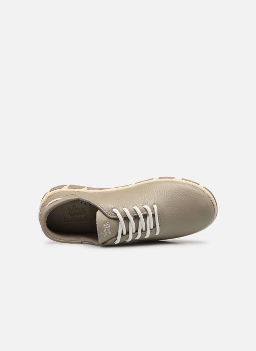 Chaussures à lacets TBS Jazaru Beige vue gauche