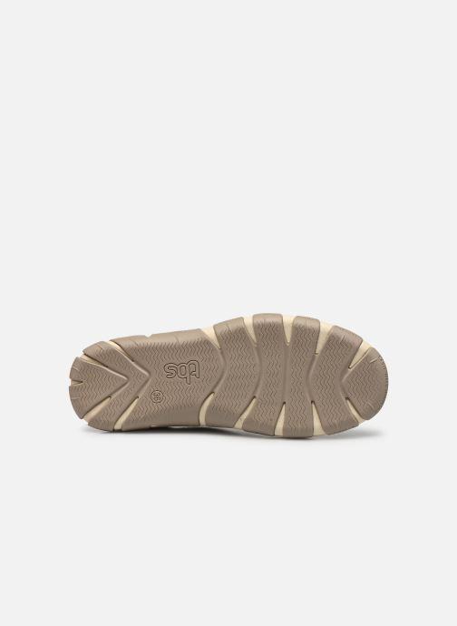Chaussures à lacets TBS Jazaru Beige vue haut