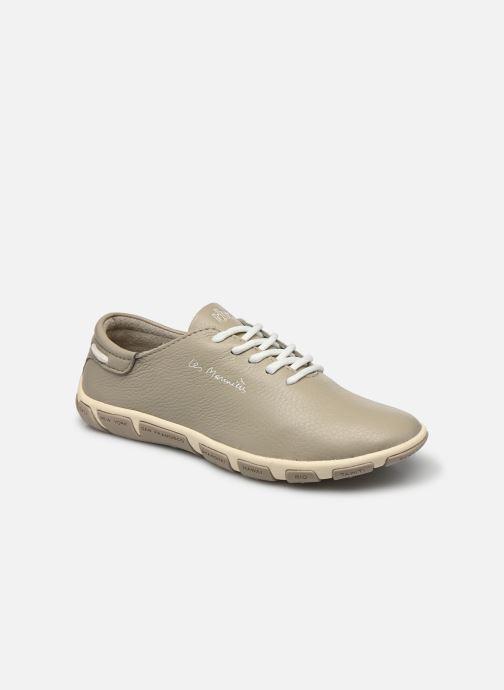 Chaussures à lacets TBS Jazaru Beige vue détail/paire