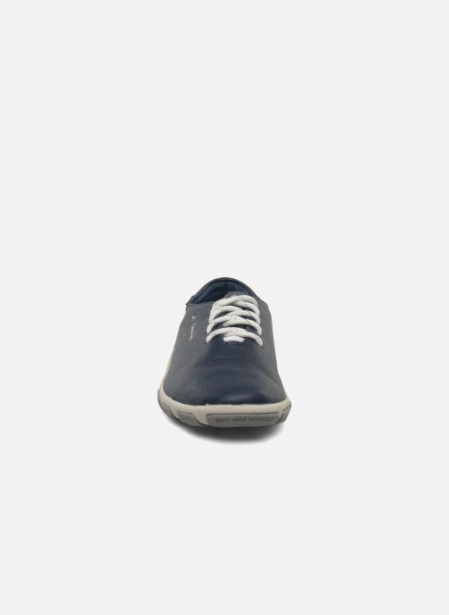 Schnürschuhe TBS Jazaru blau schuhe getragen