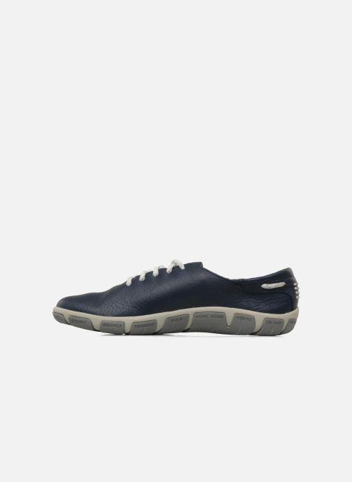 Chaussures à lacets TBS Jazaru Bleu vue face