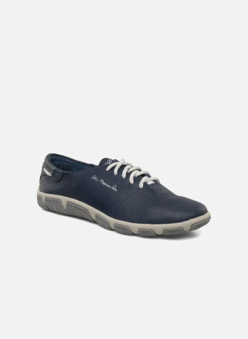Zapatos con cordones TBS Jazaru Azul vista de detalle / par