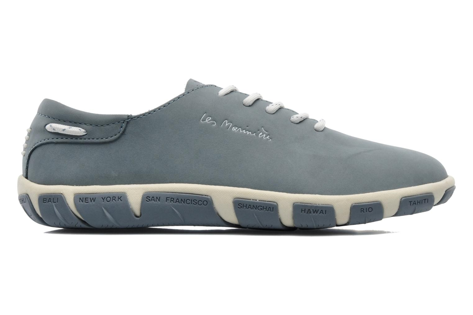 Lace-up shoes TBS Jazaru Grey back view