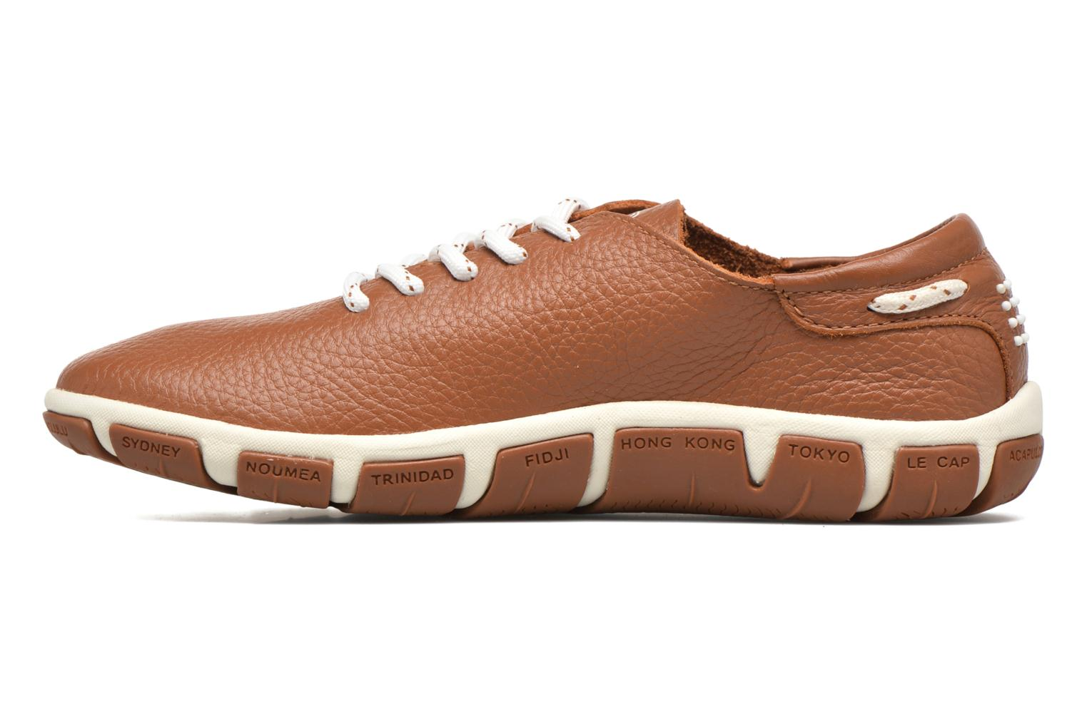 Lace-up shoes TBS Jazaru Brown front view