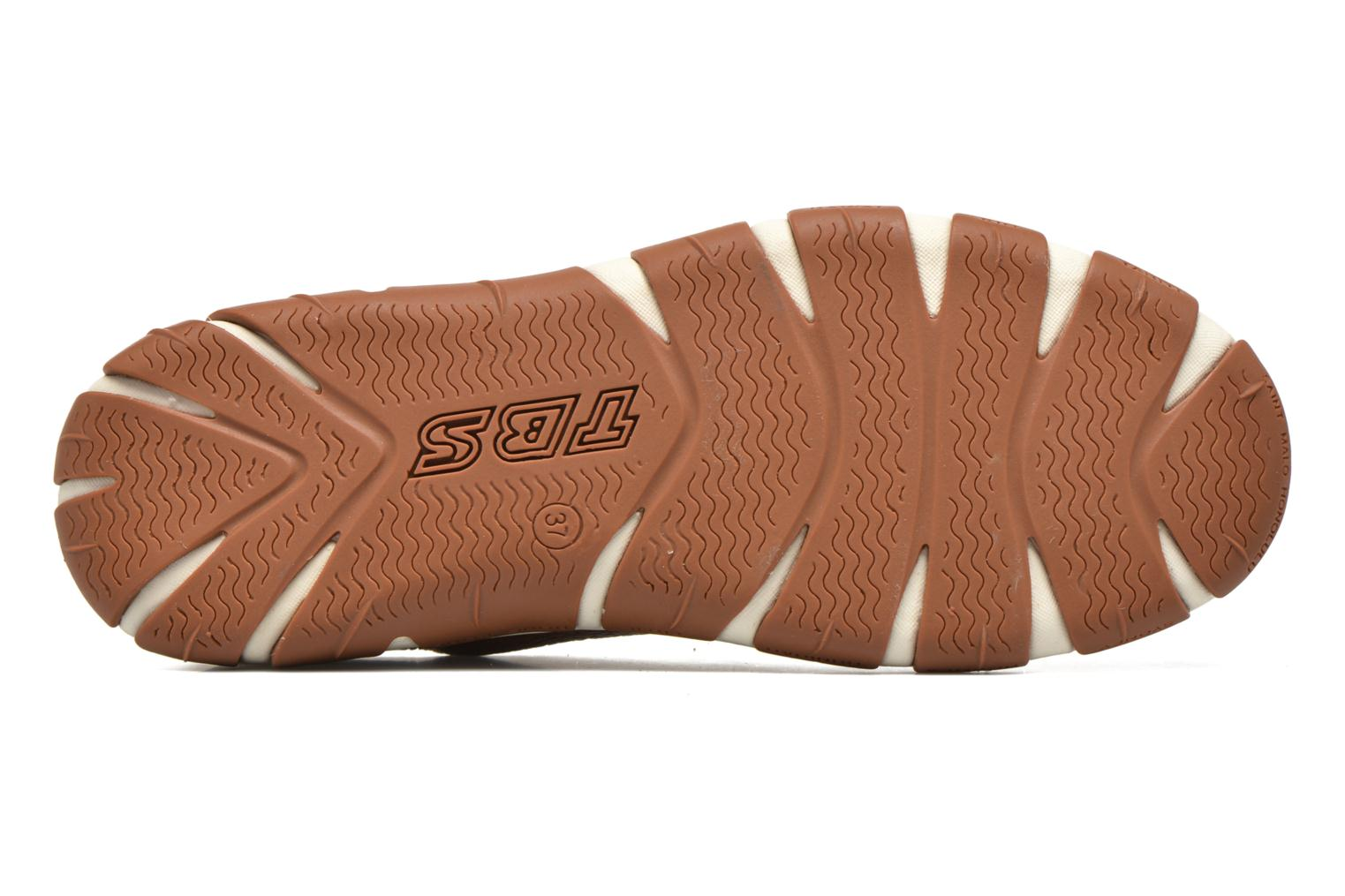 Lace-up shoes TBS Jazaru Brown view from above