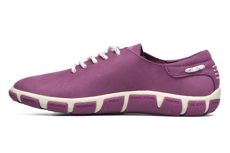 Lace-up shoes TBS Jazaru Purple front view