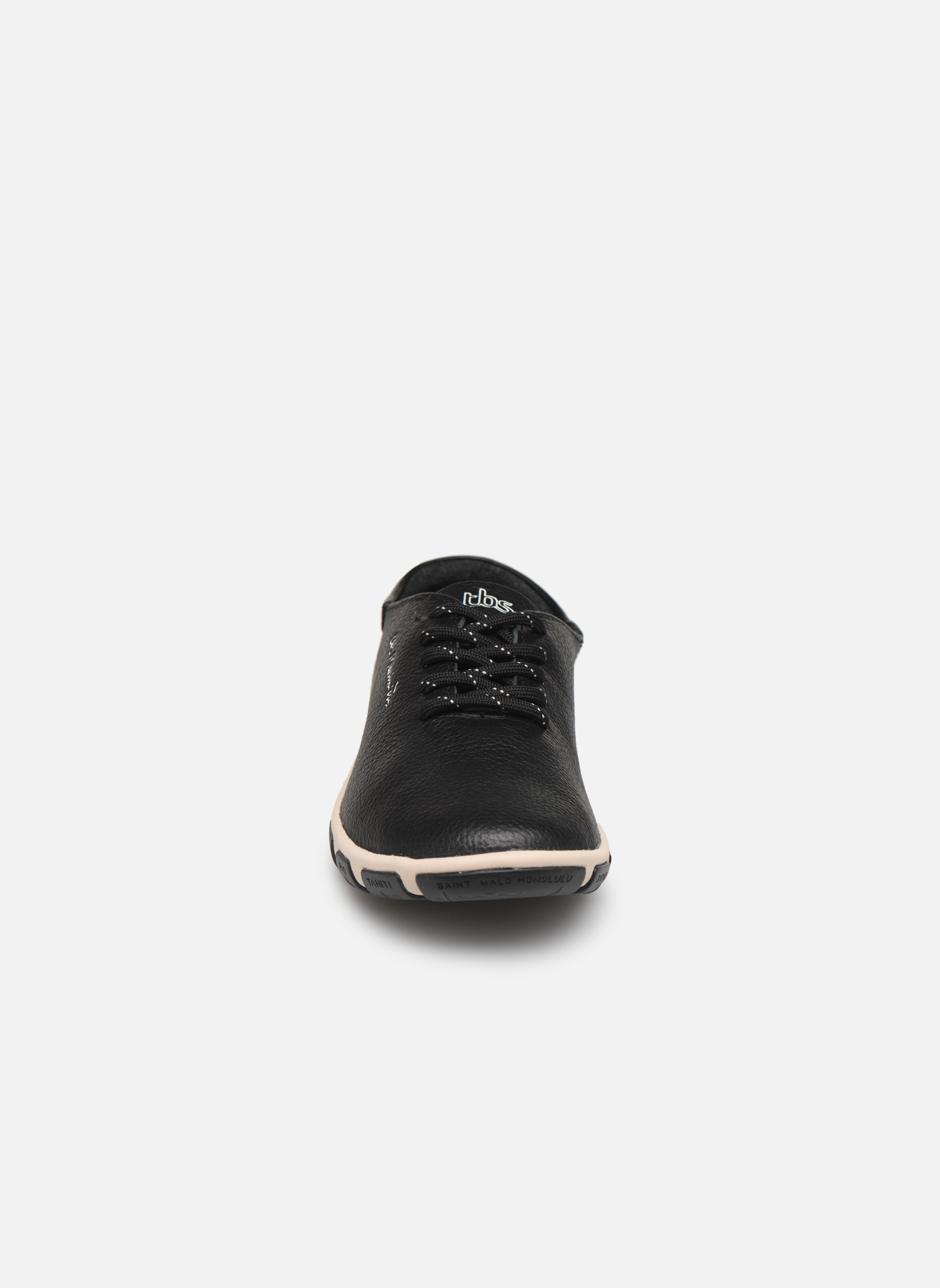 Snøresko TBS Jazaru Sort se skoene på