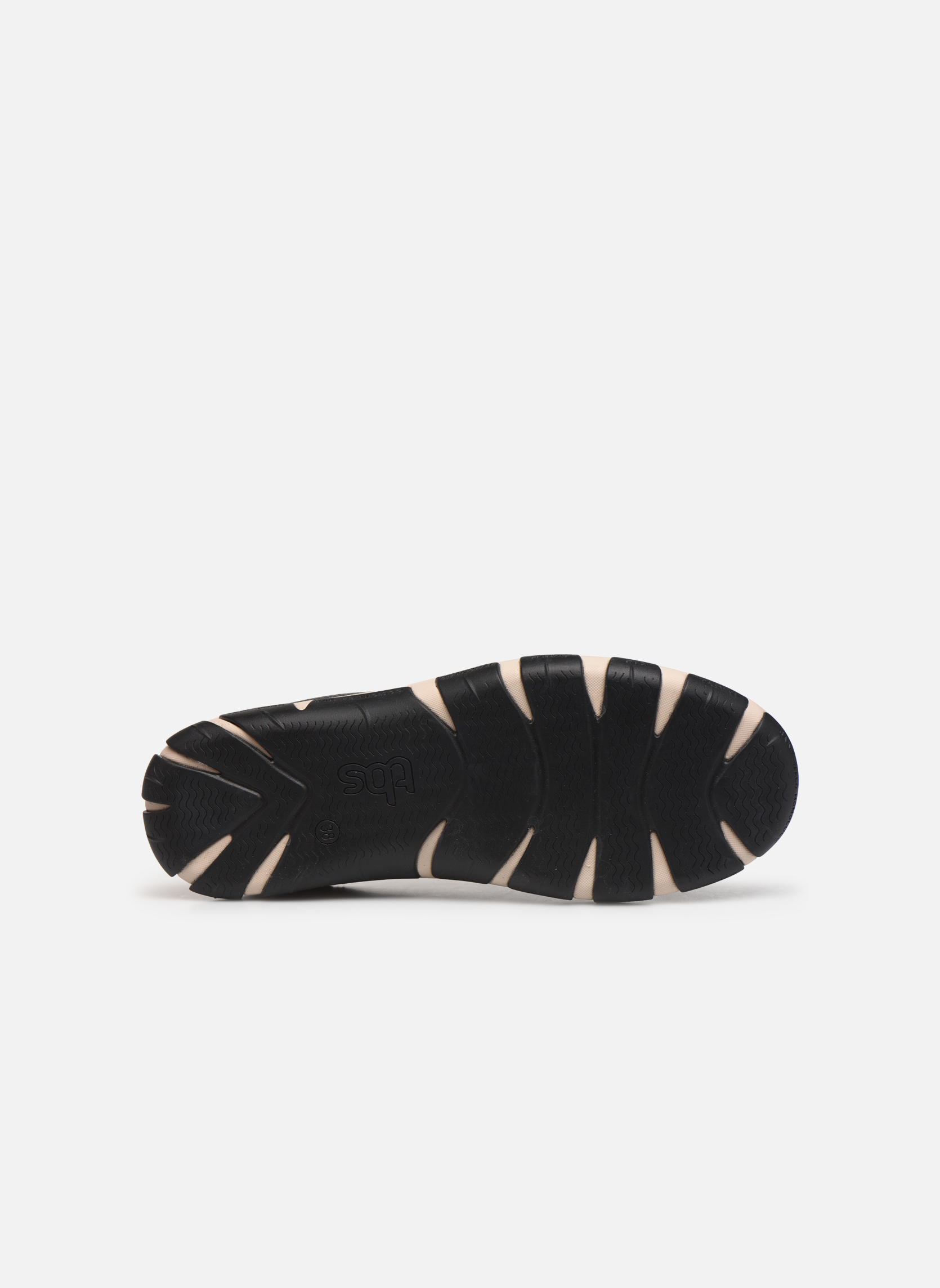 Lace-up shoes TBS Jazaru Black view from above