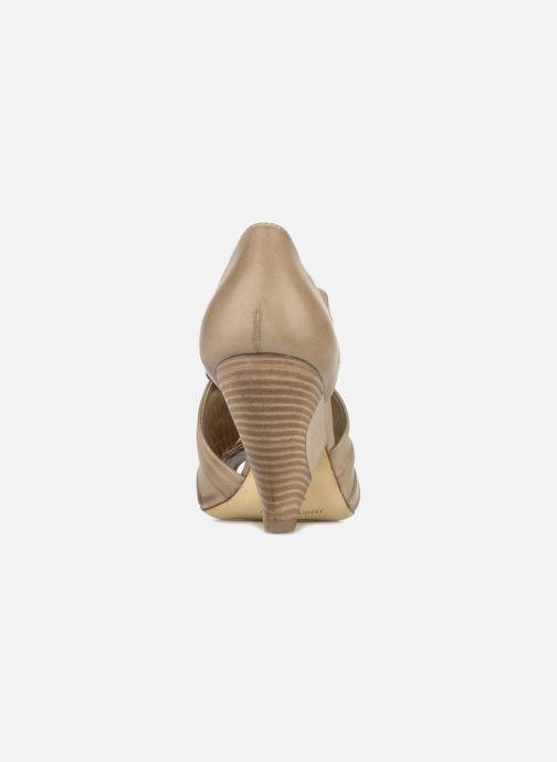 Sandales et nu-pieds Janet & Janet Vitti Beige vue droite