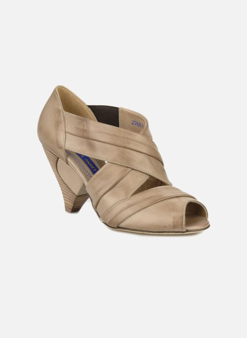 Sandales et nu-pieds Janet & Janet Vitti Beige vue détail/paire