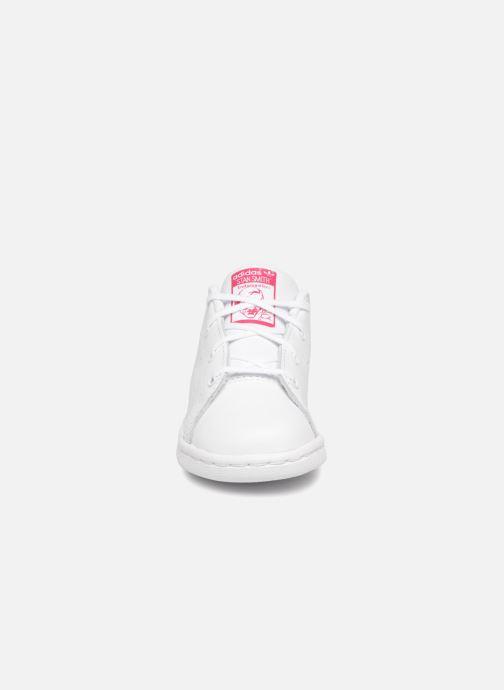 reputable site 18a0b dd6a3 Baskets adidas originals Stan smith i Blanc vue portées chaussures