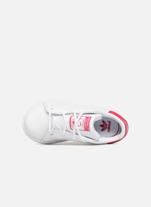 Baskets Adidas Originals Stan smith i Blanc vue gauche