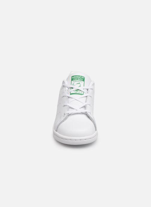 Baskets adidas originals Stan smith i Blanc vue portées chaussures