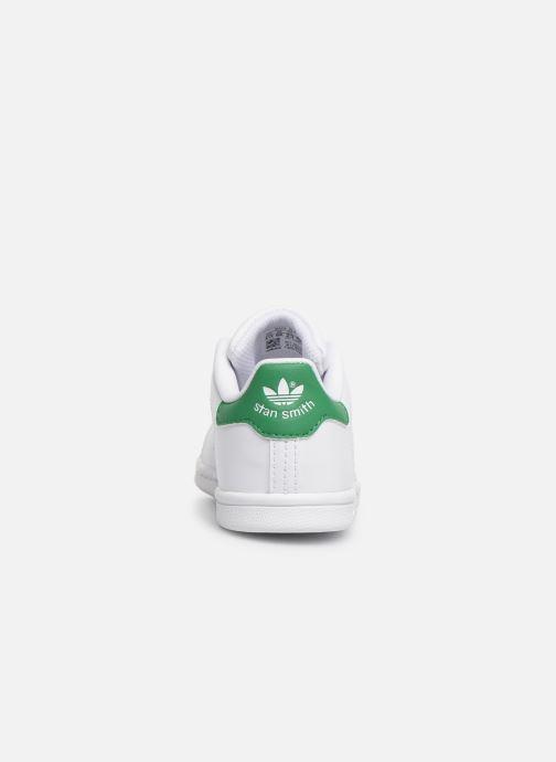 Sneaker adidas originals Stan smith i weiß ansicht von rechts