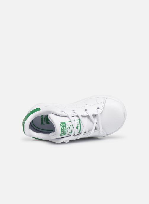 Sneaker adidas originals Stan smith i weiß ansicht von links