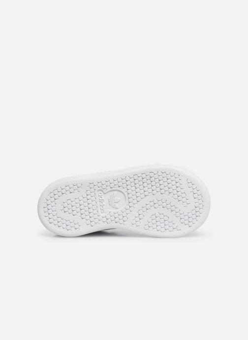 Sneaker adidas originals Stan smith i weiß ansicht von oben