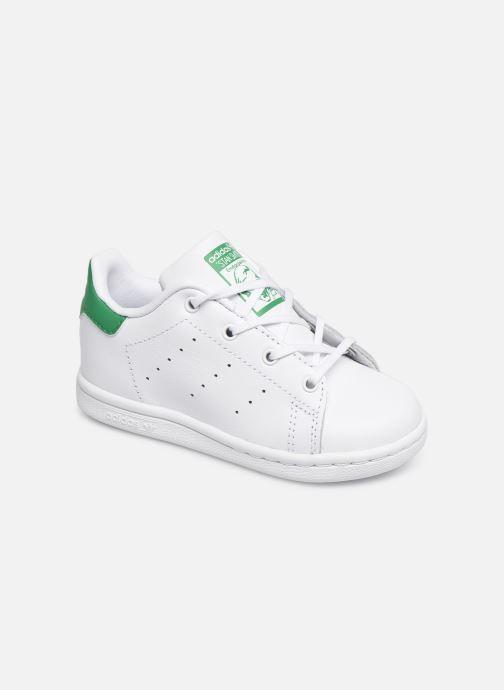Baskets adidas originals Stan smith i Blanc vue détail/paire