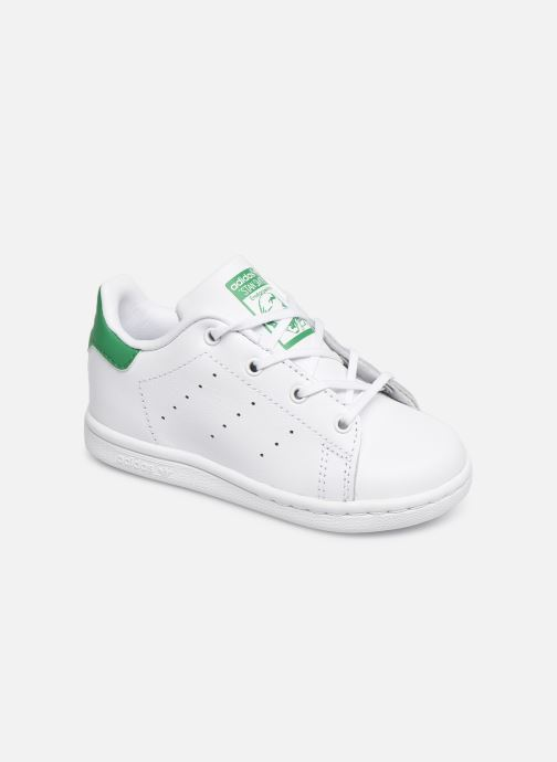 Baskets adidas originals Stan smith i Blanc vue détail/paire