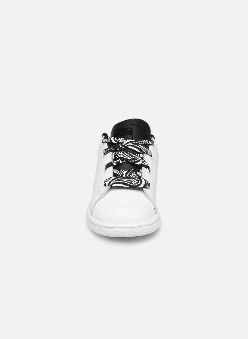 Sneaker adidas originals Stan smith i weiß schuhe getragen