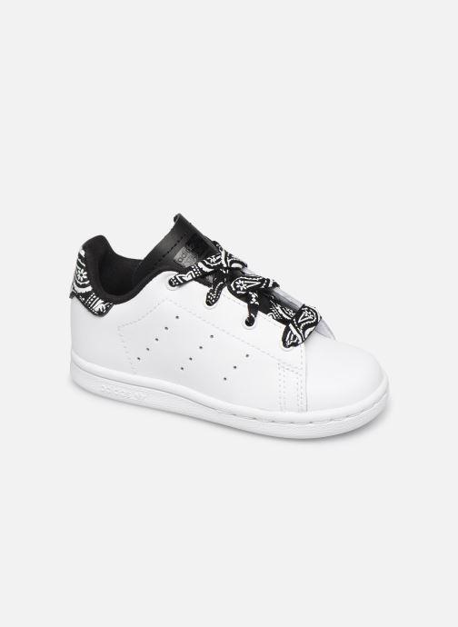 Sneaker adidas originals Stan smith i weiß detaillierte ansicht/modell