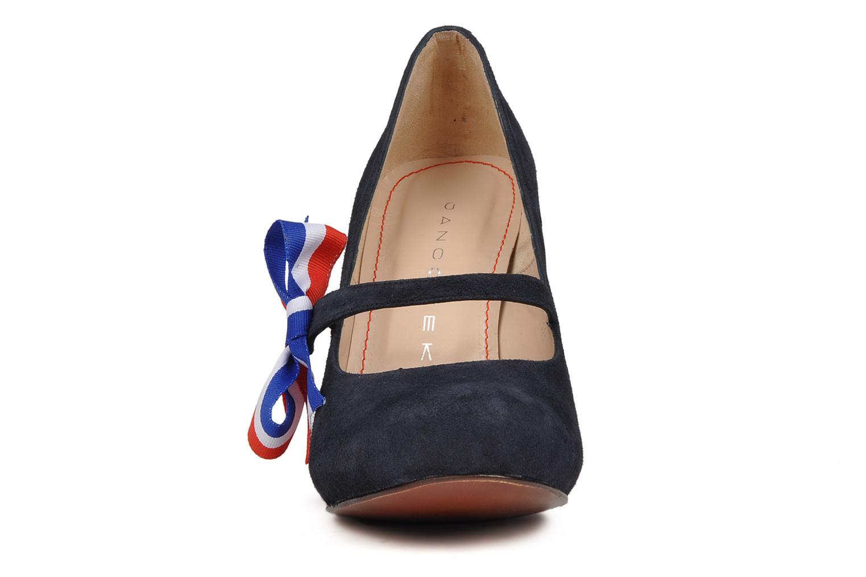Escarpins Jancovek Anatole Multicolore vue portées chaussures
