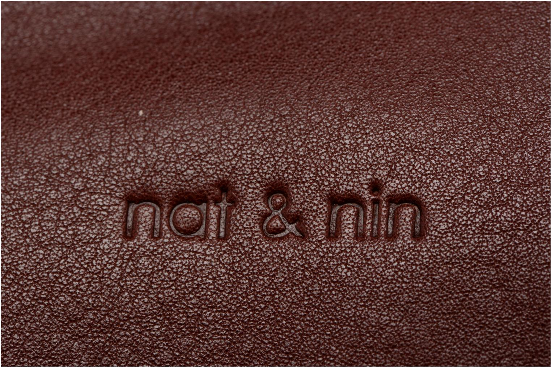 Petite Maroquinerie Nat & Nin Patty Violet vue gauche