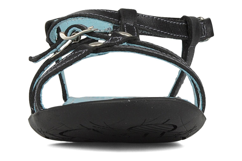 Sandales et nu-pieds Ramdam by GBB Nanterre Noir vue portées chaussures