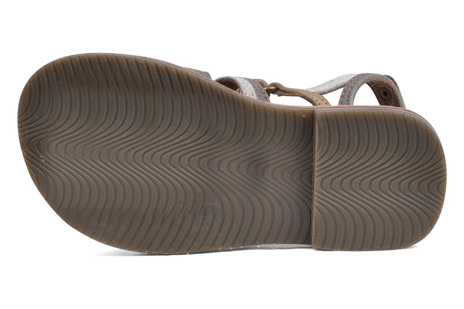 Sandals chipie bis Savana Grey view from above
