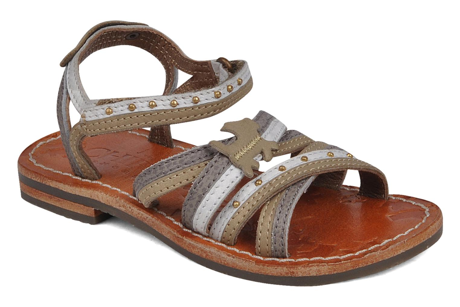 Sandals chipie bis Savana Grey detailed view/ Pair view