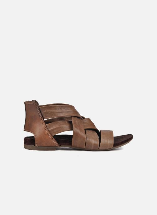 Sandales et nu-pieds Manas Lazos Gris vue derrière