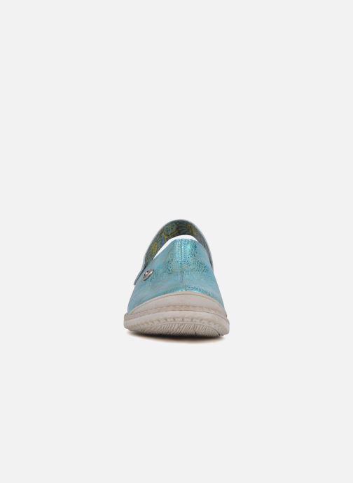 Sandales et nu-pieds Catimini Claire Bleu vue portées chaussures