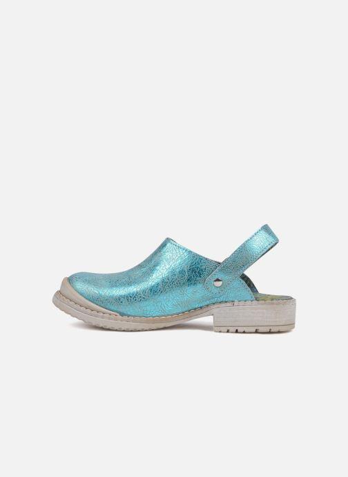 Sandales et nu-pieds Catimini Claire Bleu vue face