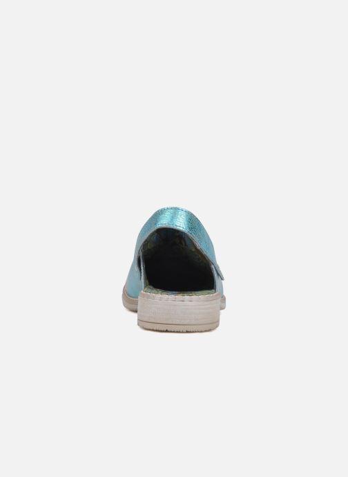 Sandali e scarpe aperte Catimini Claire Azzurro immagine destra
