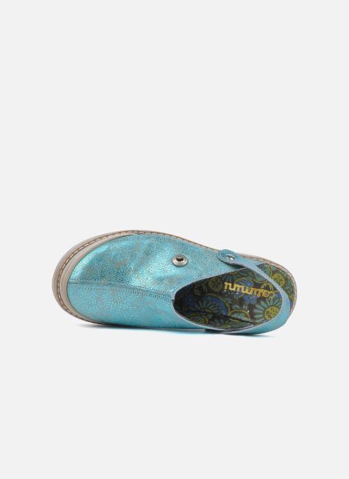 Sandales et nu-pieds Catimini Claire Bleu vue gauche