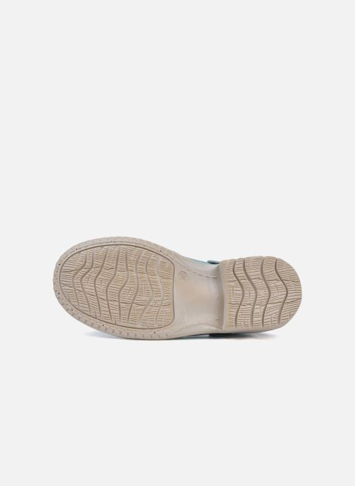 Sandales et nu-pieds Catimini Claire Bleu vue haut
