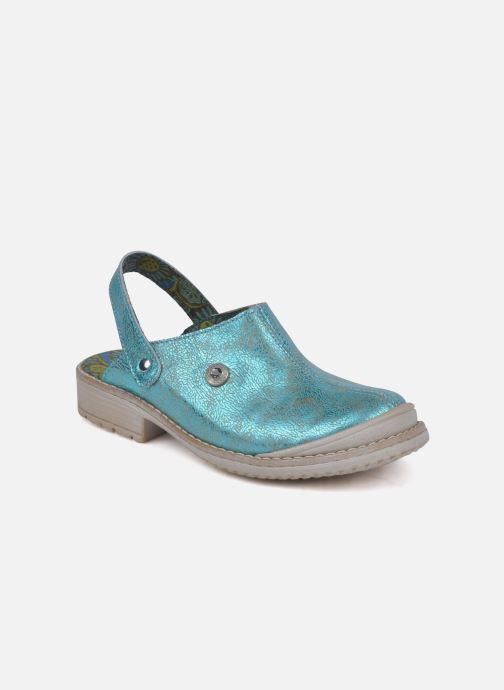 Sandales et nu-pieds Catimini Claire Bleu vue détail/paire