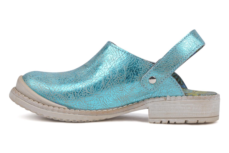 Sandals Catimini Claire Blue front view