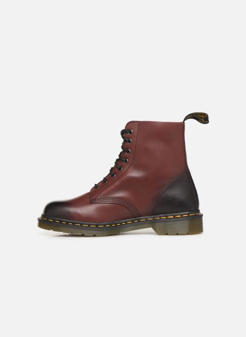 Bottines et boots Dr. Martens PASCAL M Bordeaux vue face