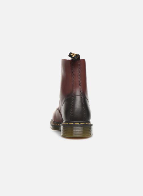 Stiefeletten & Boots Dr. Martens PASCAL M weinrot ansicht von rechts