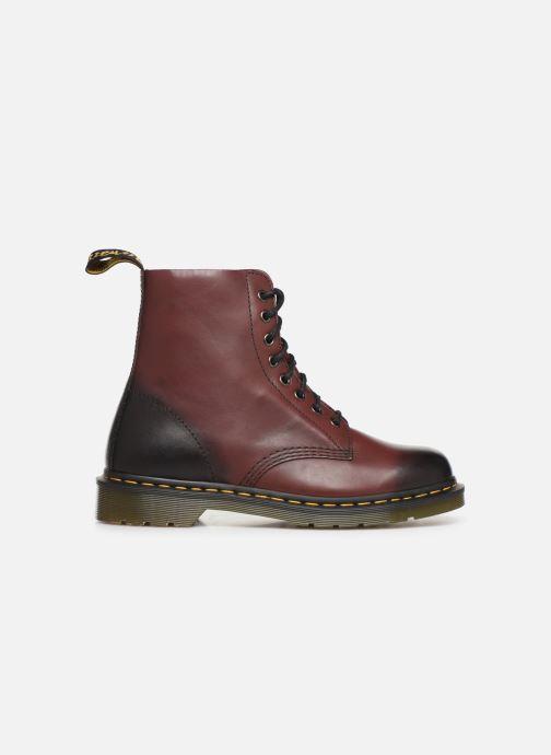 Bottines et boots Dr. Martens PASCAL M Bordeaux vue derrière