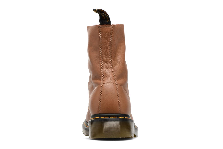 Bottines et boots Dr. Martens PASCAL M Marron vue droite