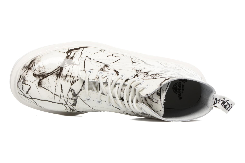 Bottines et boots Dr. Martens PASCAL M Blanc vue gauche