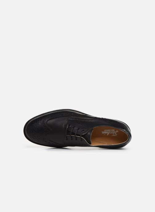 Veterschoenen Florsheim Morgan Zwart links