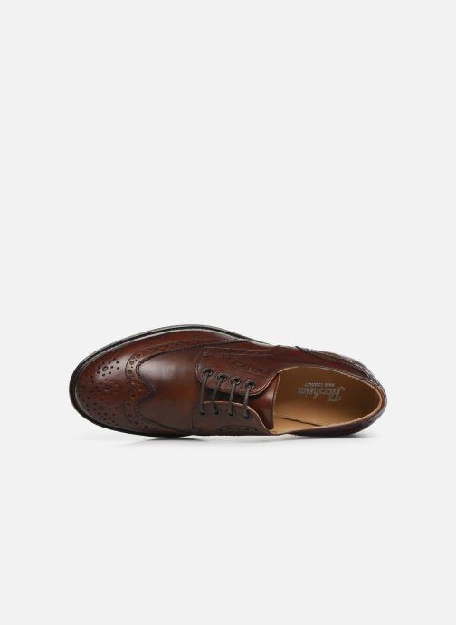 Chaussures à lacets Florsheim Morgan Marron vue gauche